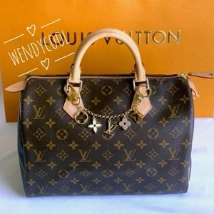 2019 Louis Vuitton Monogram Classic Speedy 30 Bag